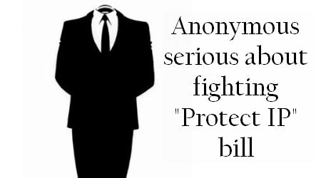 Anonymous Fighting Protect IP
