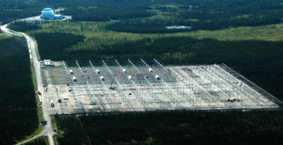 HAARP Under Construction