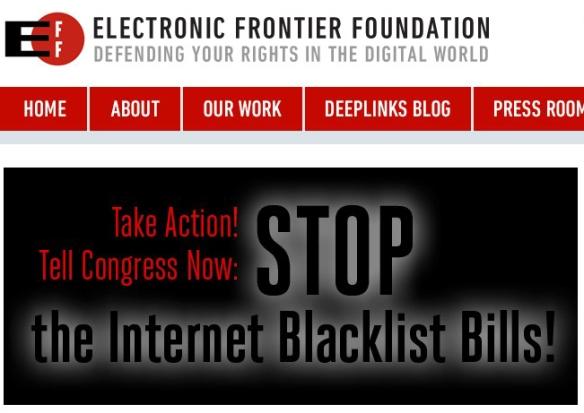 EFF.org SOPA PIPA blackout