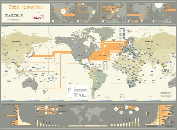 Global Internet Map 2001