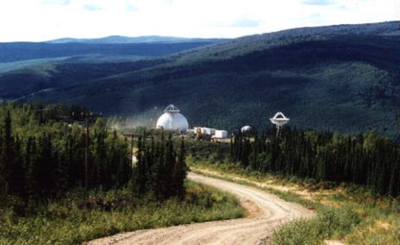 HAARP Poker Flat tracking facility
