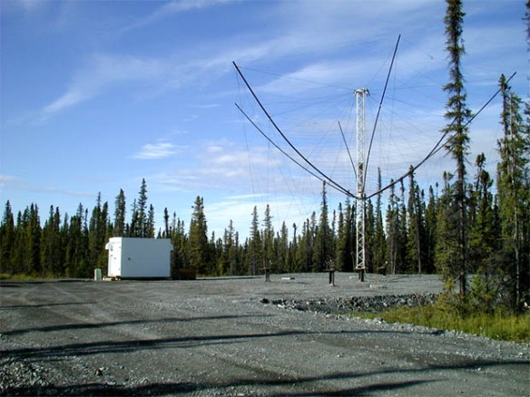 HAARP - HF Receiving Antennas