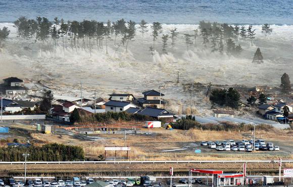 Fukushima Japan tsunami March 11, 2011