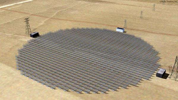 haarp sps satellite power system rectenna structure