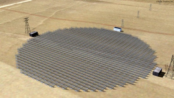 haarp sps satellite power system rectenna structure