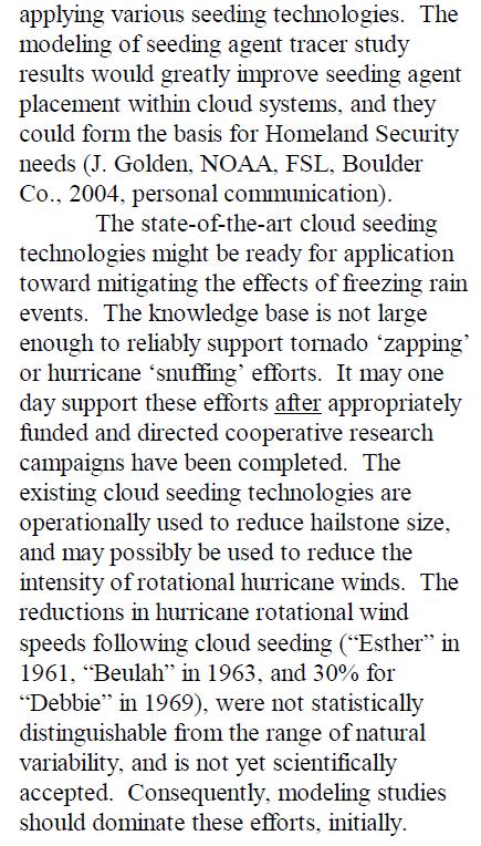 DHS - Homeland Security - Raytheon - Weather Modification - Tornado Zapping Hurricane Seeding