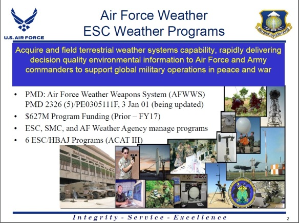Air Force Weather Weapons System AFWWS 02