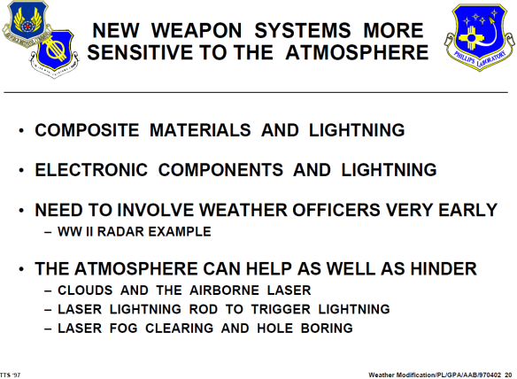 HAARP USAF Weather Modification 1997 05