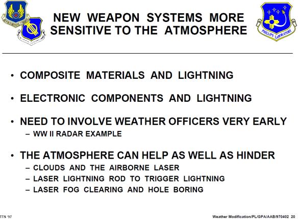 HAARP USAF Weather Modification 1997 05