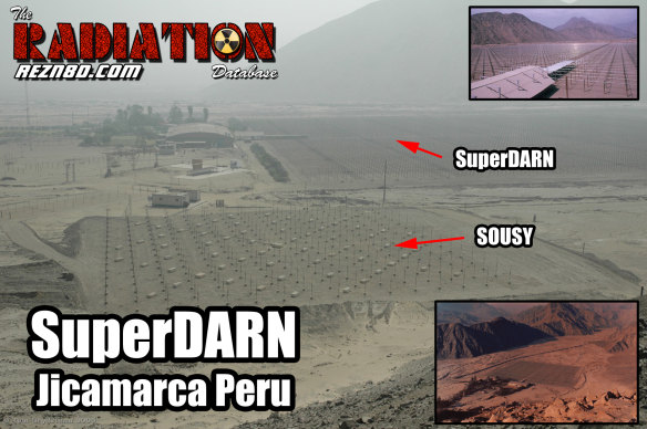 SuperDARN Jicamarca and SOUSY 50 MHz MST