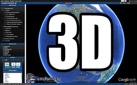 ClimateViewer 3D: PC or Mac, HTML 5 Browser, Google Earth plugin, 3D map in your browser!